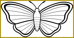 Monarch Butterfly Coloring Page Within Printable Butterfly Coloring Pages Coloring Pages For Children