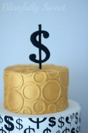 Money Birthday Cake Blissfully Sweet Money Money Money Themed Cakes Treats