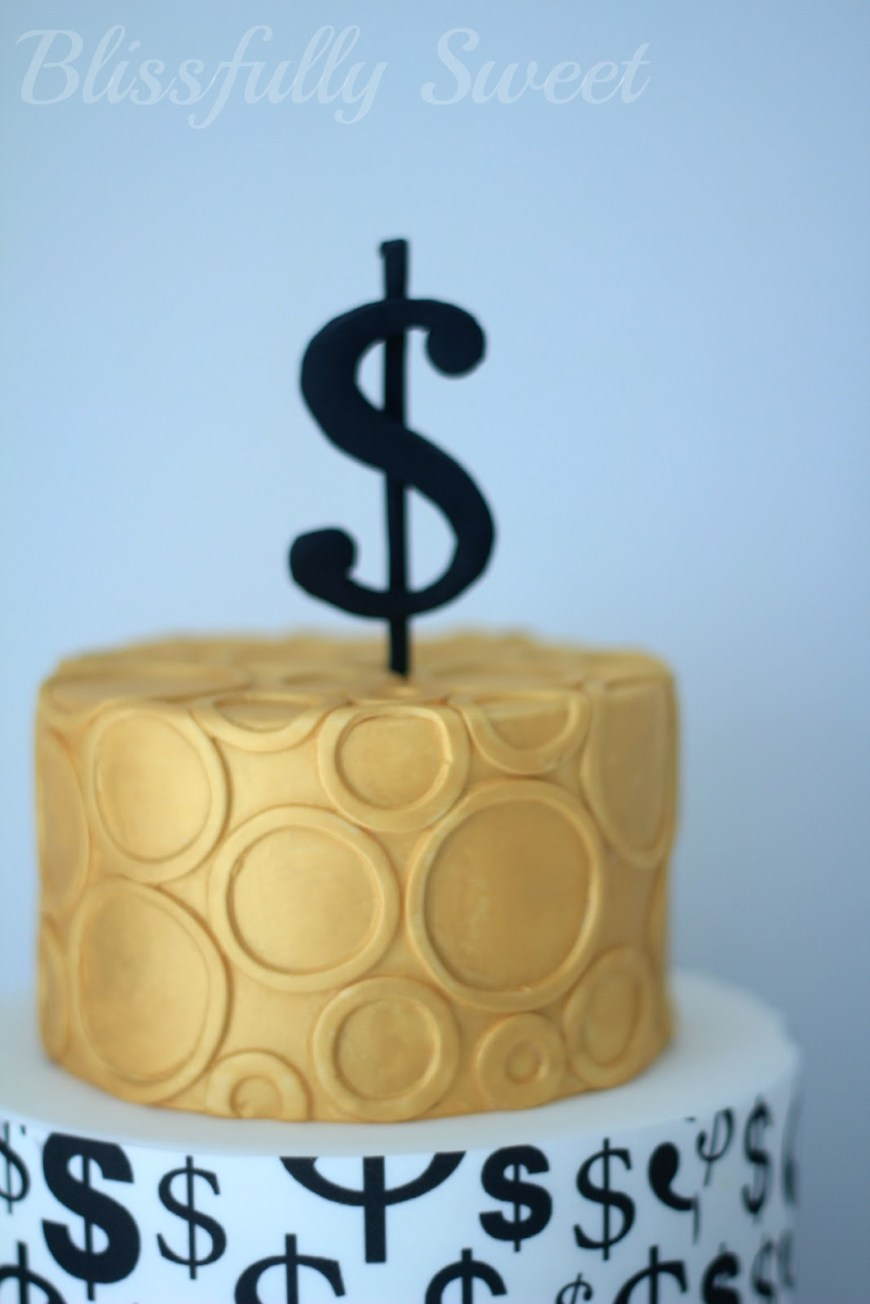 Money Birthday Cake Blissfully Sweet Money Money Money Themed Cakes Treats