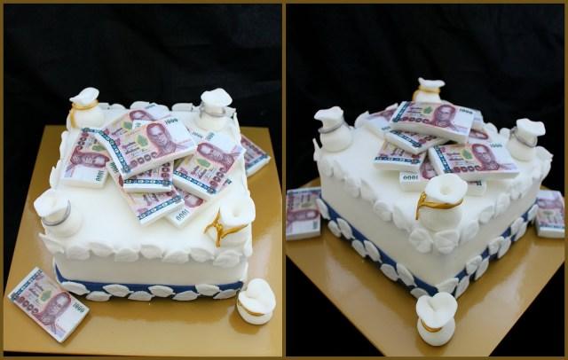 Money Birthday Cake Fin Ish Me Cupcakes The Wealthy Money Cake