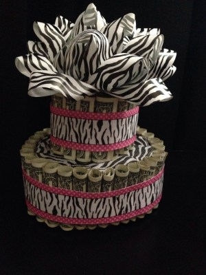 Money Birthday Cake Money Birthday Cake Made This Cake Out Of 50 One Dollar Bills