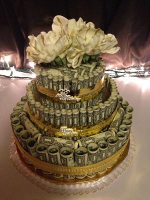 Money Birthday Cake Money Cake Stuff Ive Made Money Cake Money Money Birthday Cake