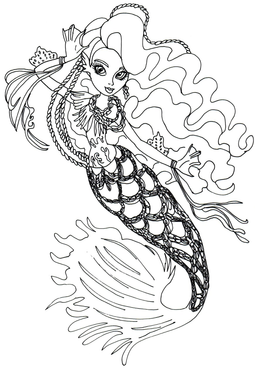 Monster High Coloring Pages Printable Free Printable Monster High Coloring Pages Printables 11101600