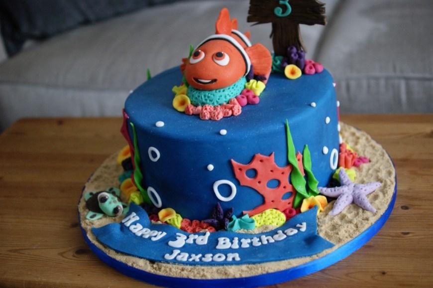 Nemo Birthday Cake Finding Nemo 3rd Birthday Cake Bakealous