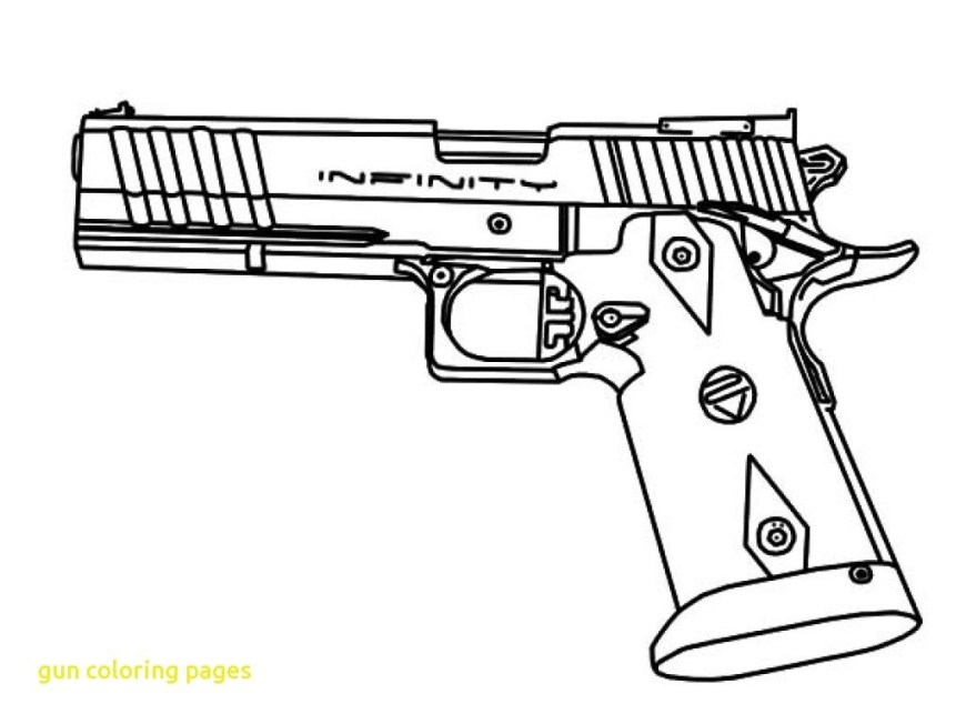 Nerf Gun Coloring Pages New Coloring Pages Guns For You Coloring Pages For Free