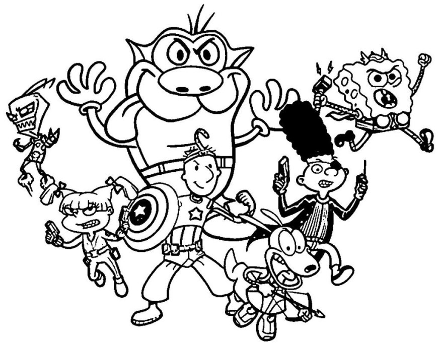 Nick Jr Coloring Pages Marque Nick Jr Coloring Pages Graphicall Design