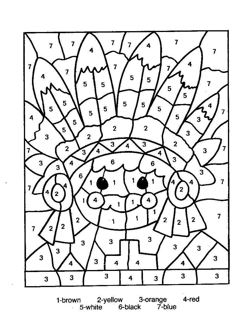 Number Coloring Pages Color Number Coloring Pages Coloringsuite