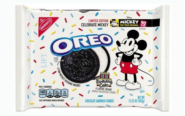 Oreo Birthday Cake Oreo Releases Limited Edition Birthday Cake Flavor For Mickey