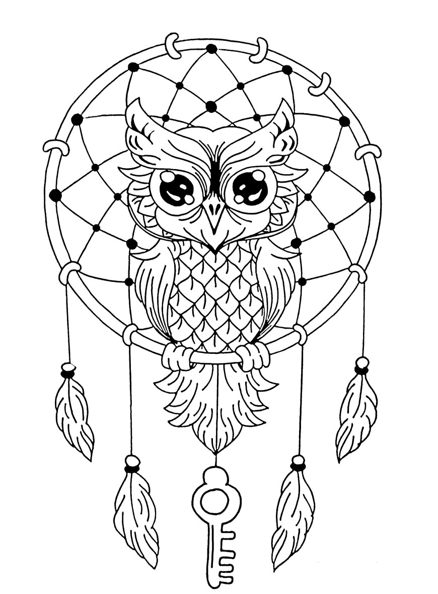 Owl Coloring Pages For Adults Owl Mandala Coloring Pages Gallery Free Books Color 27241