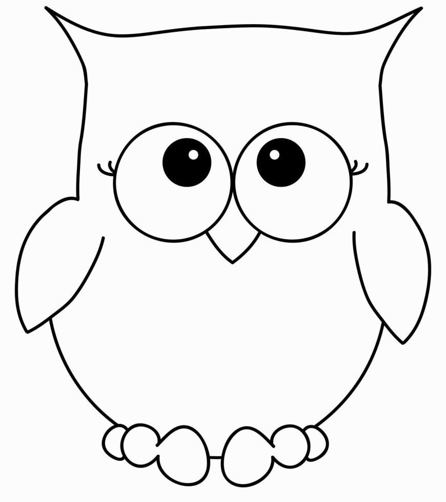 Owls Coloring Pages Easy Owl Coloring Pages Lovely Free Coloring Pages Owls Elegant