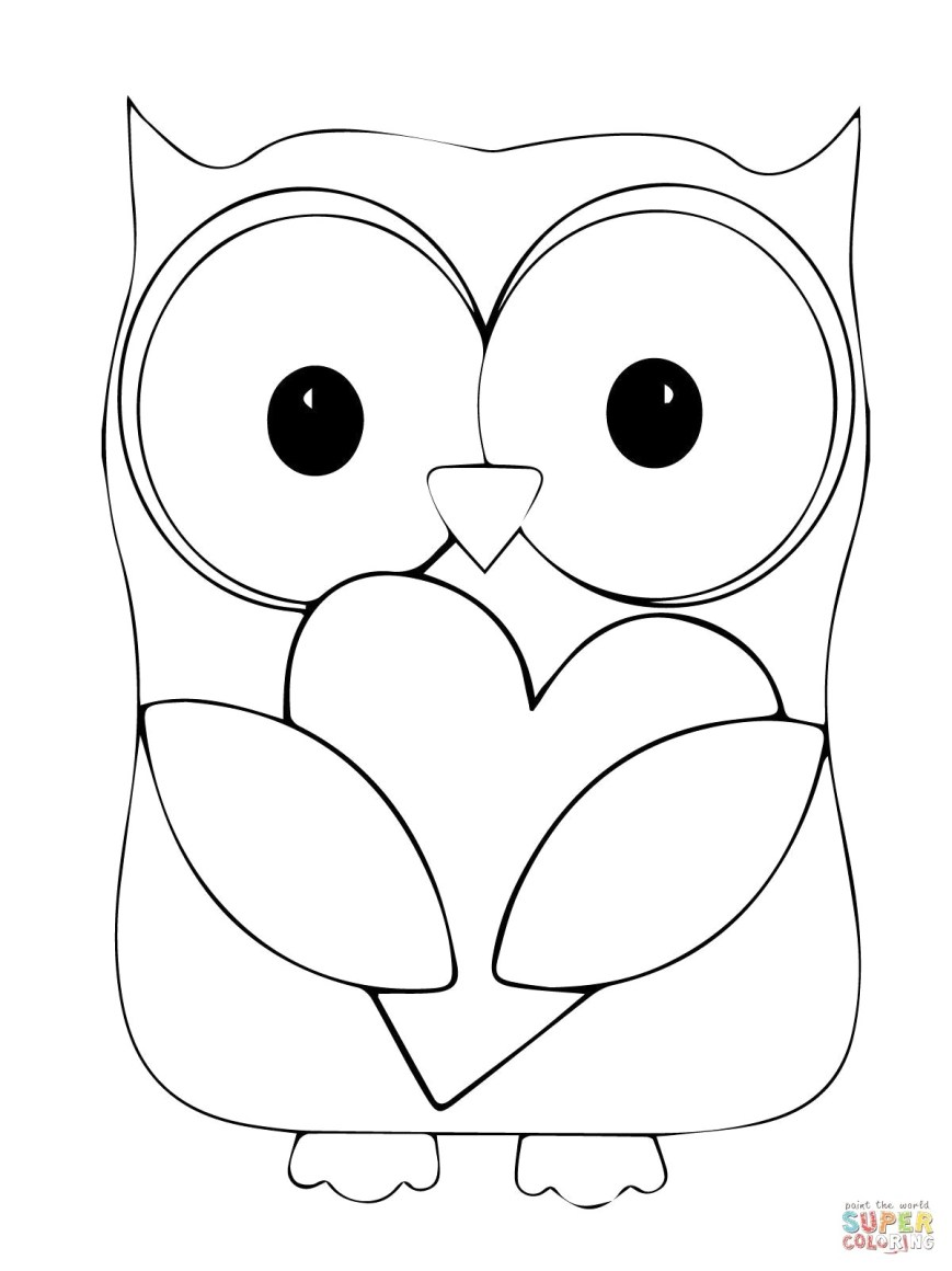 Owls Coloring Pages Owl Coloring Pages Koloringpages Owls Pinterest For Of Vietti