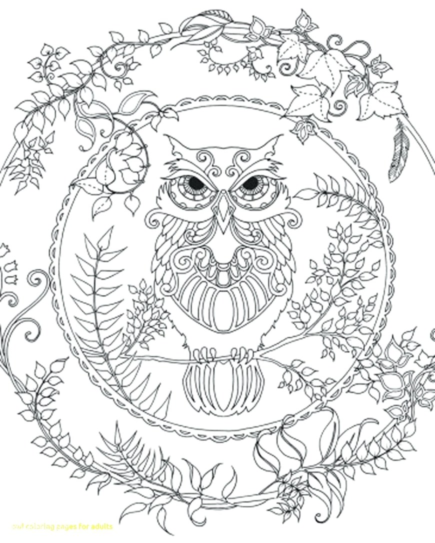 Owls Coloring Pages Owl Mandala Coloring Pages At Getdrawings Free For Personal