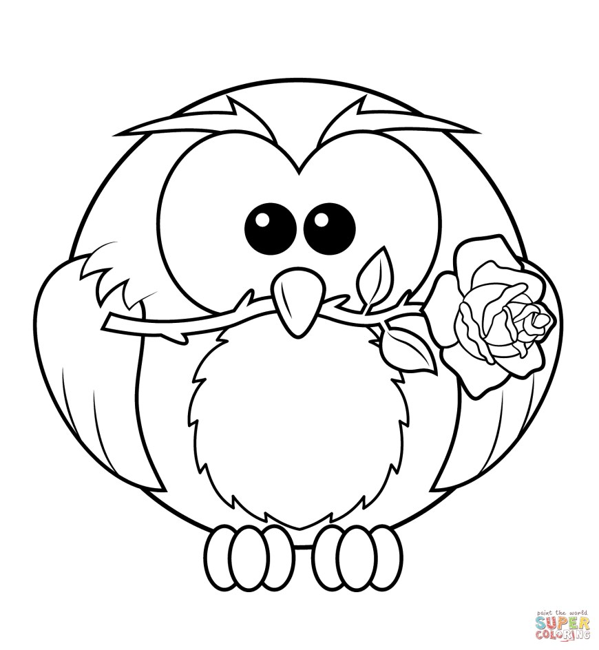 Owls Coloring Pages Owls Coloring Pages Free Coloring Pages