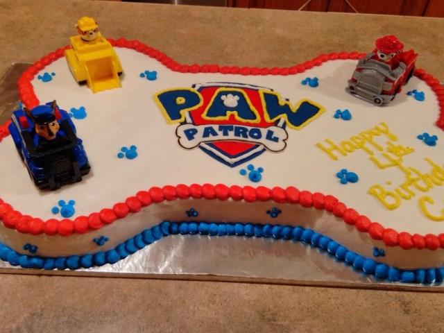 Paw Patrol Birthday Cake Ideas 10 Paw Patrol Sheet Cakes For Boys Photo Paw Patrol Cake Paw