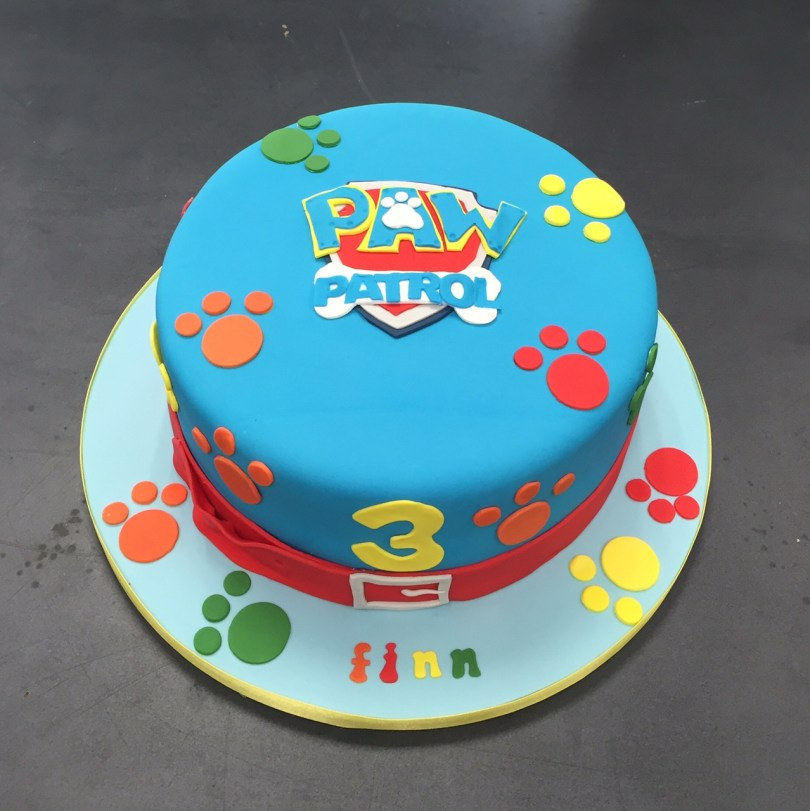 Paw Patrol Birthday Cake Ideas Childrens Birthday Cakes Belfast