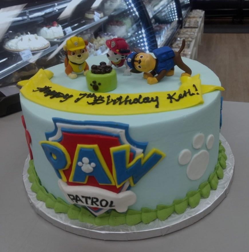 Paw Patrol Birthday Cake Ideas Custom Theme Birthday Goodies Bakery Winnipeg Goodies