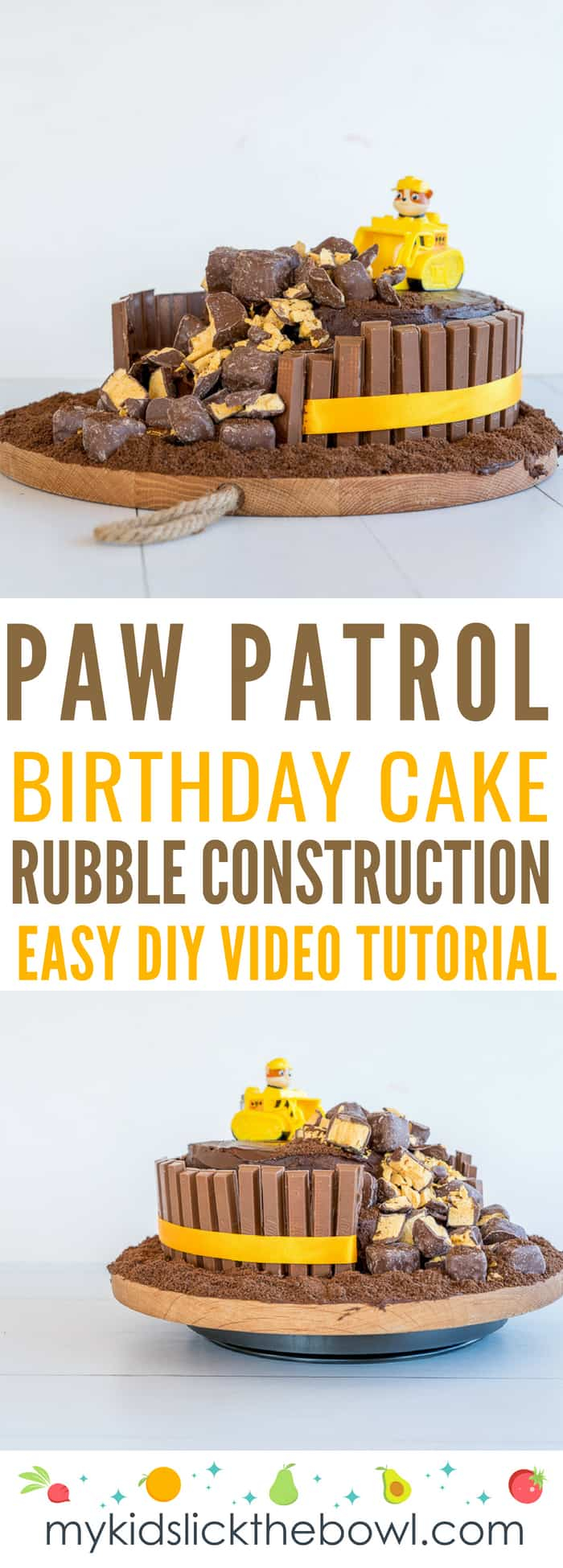 Paw Patrol Birthday Cake Ideas Paw Patrol Birthday Cake Easy Diy Tutorial Videp