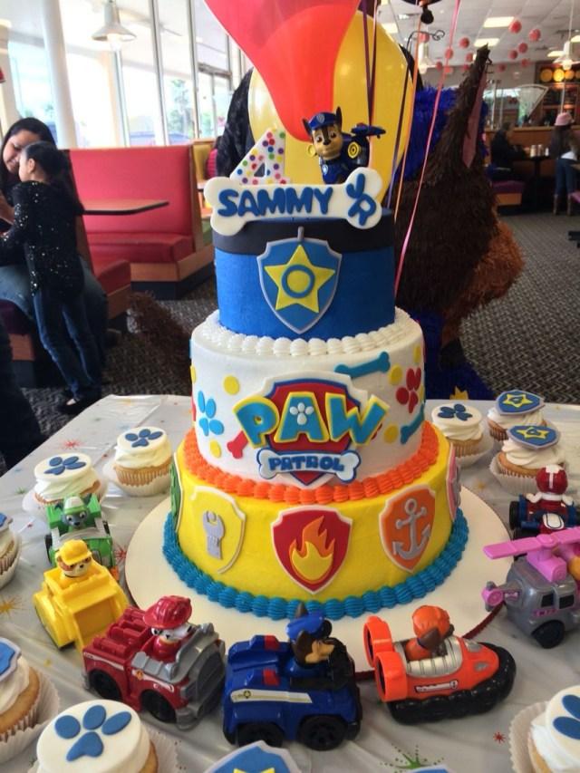 Paw Patrol Birthday Cake Ideas Paw Patrol Birthday Cake Facebooksweetkreationsbecky Sweet