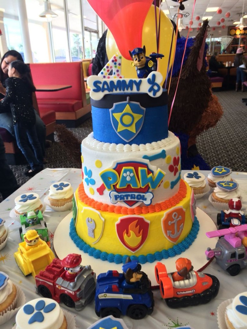 Paw Patrol Birthday Cake Ideas Paw Patrol Birthday Cake Facebooksweetkreationsbecky Sweet