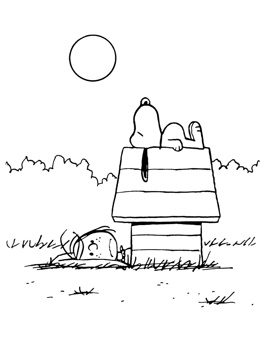 Peanuts Coloring Pages Peanuts Coloring Pages Coloring Pages