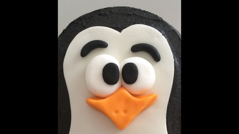 Penguin Birthday Cake How To Make A Penguin Birthday Cake Youtube