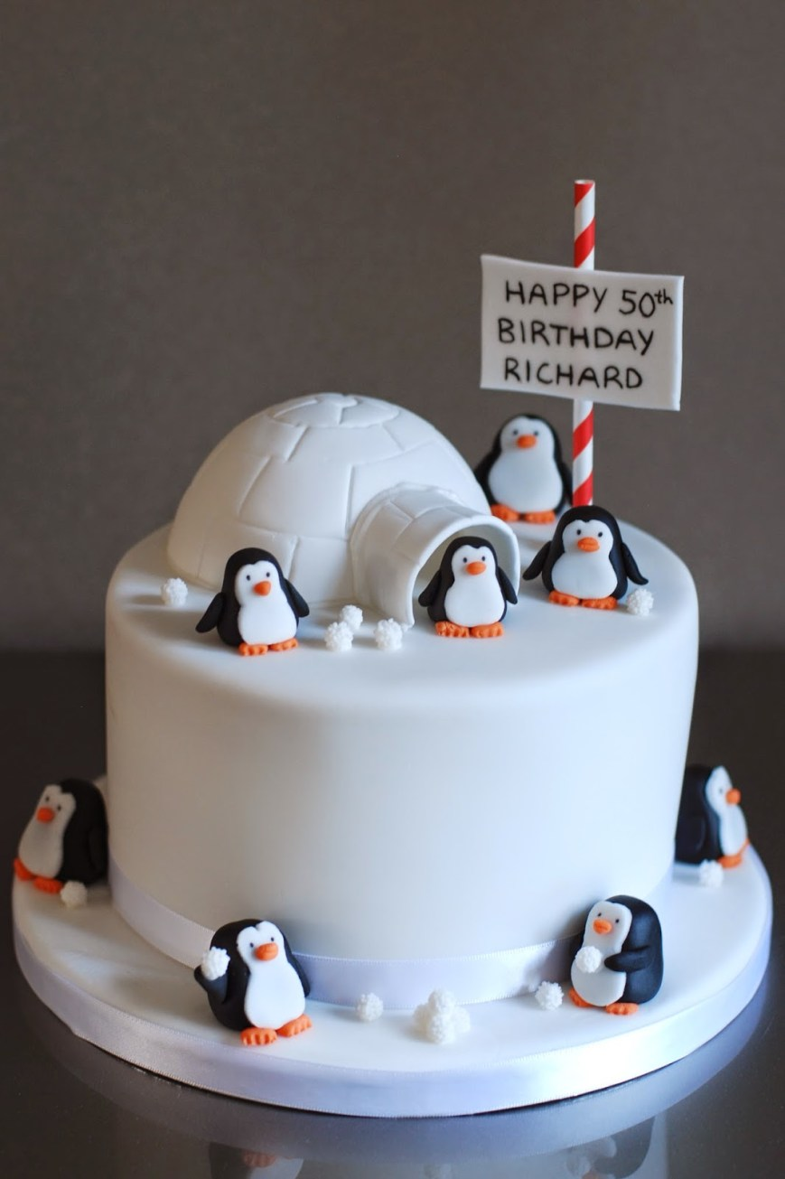 Penguin Birthday Cake Penguin Birthday Cake Archives Afternoon Crumbs