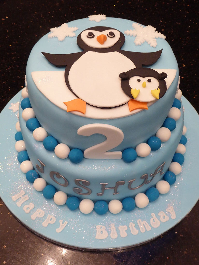 Penguin Birthday Cake Penguin Birthday Cake Rachael Ince Flickr