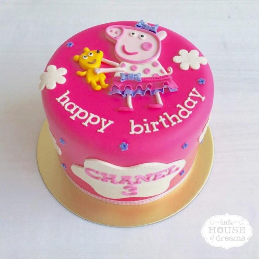 Peppa Pig Birthday Cakes 12 Cute Peppa Pig Birthday Cake Designs Recommendmy Living
