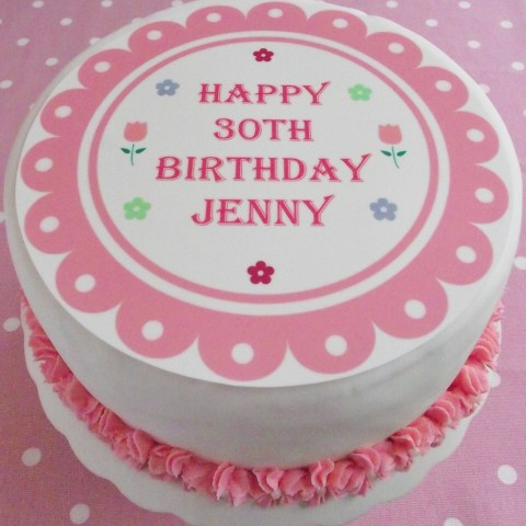 Personalized Birthday Cakes Personalized Birthday Cakes