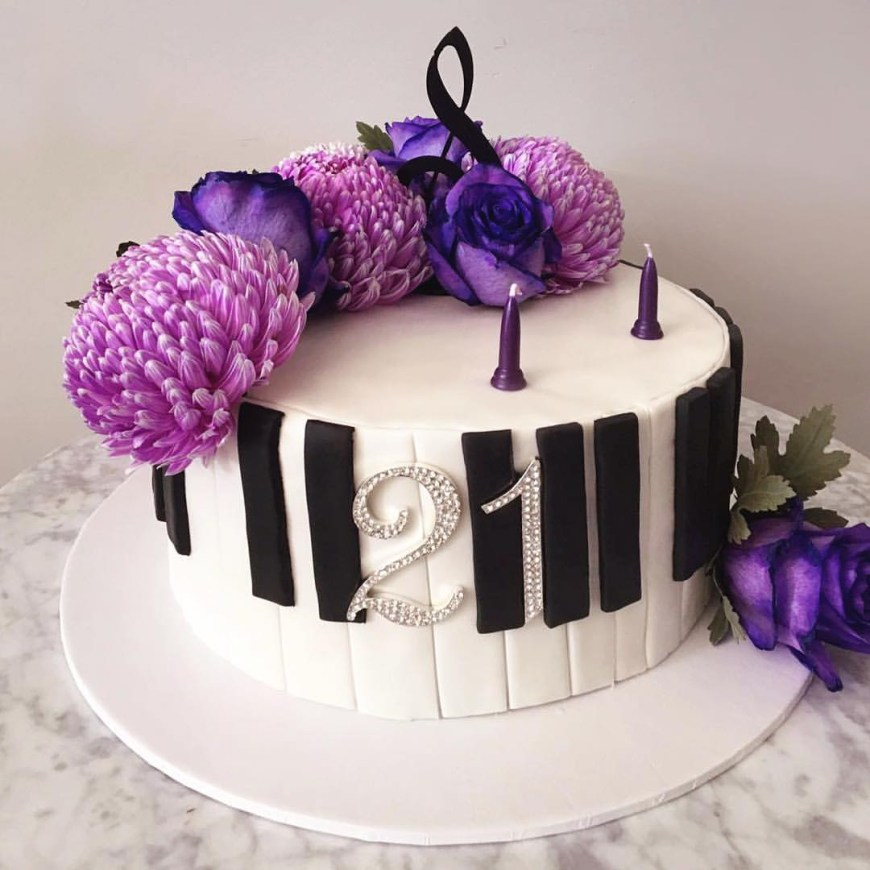 Piano Birthday Cake Birthday Cake Piano 21 Fairy Littlebearbaking Warragul Little Bear