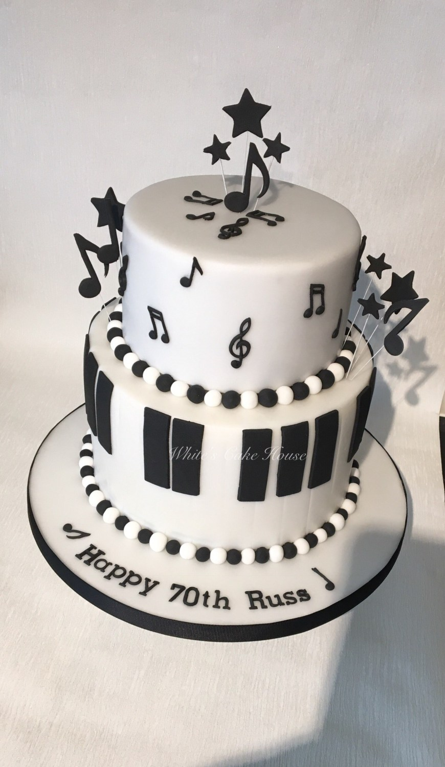 Piano Birthday Cake Birthdays Boys Whites Cake House