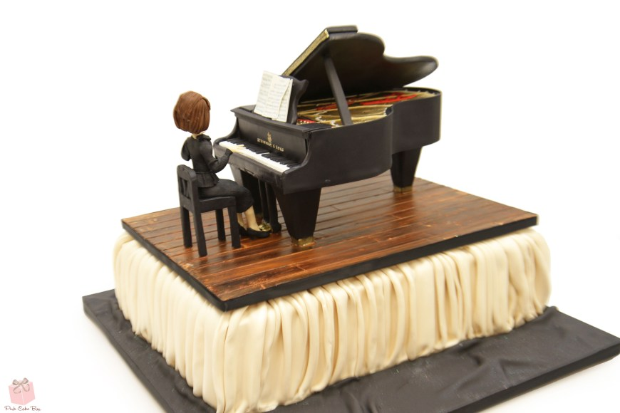 Piano Birthday Cake Grand Piano Birthday Cake Birthday Cakes