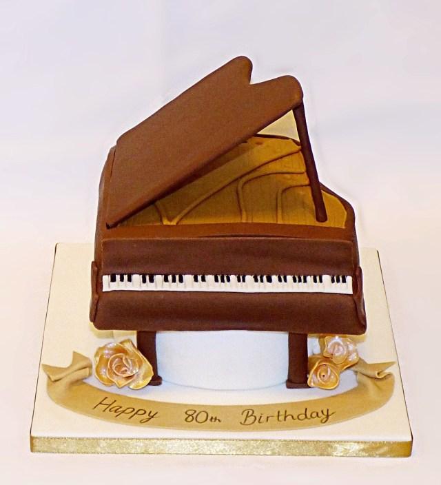 Piano Birthday Cake Piano Birthday Cake