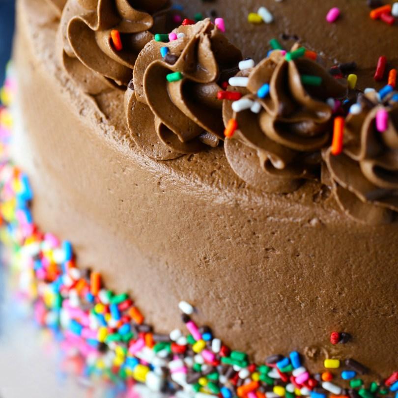 Picture Of Birthday Cake Chocolate Birthday Cake Mom Loves Baking