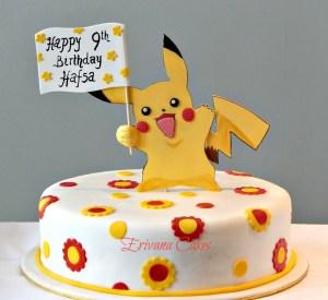 Pikachu Birthday Cake Pikachu Birthday Cakes