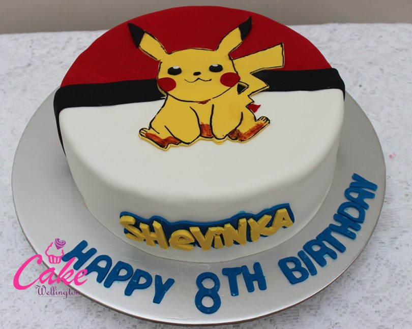Pikachu Birthday Cake Pokemon Birthday Cake 2 Cake Wellington