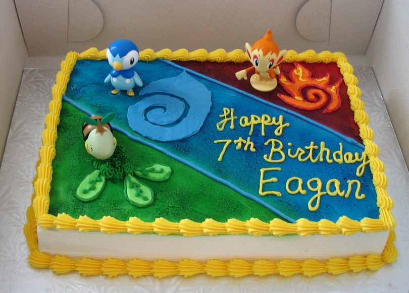 Pikachu Birthday Cake Pokemon Cakes Decoration Ideas Little Birthday Cakes