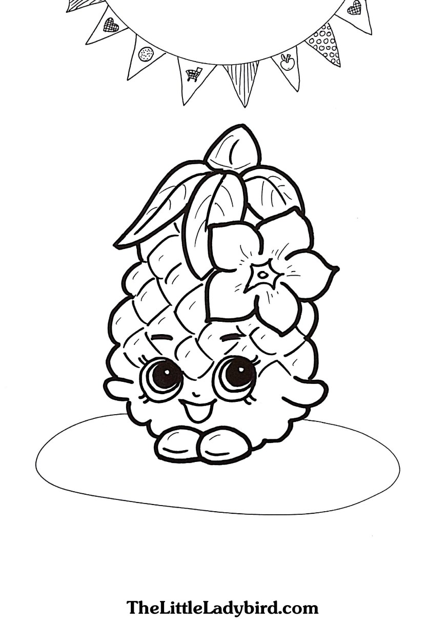 Pineapple Coloring Page Cool Coloring Pages Pineapple Tags Pineapple Coloring Page Pineapple