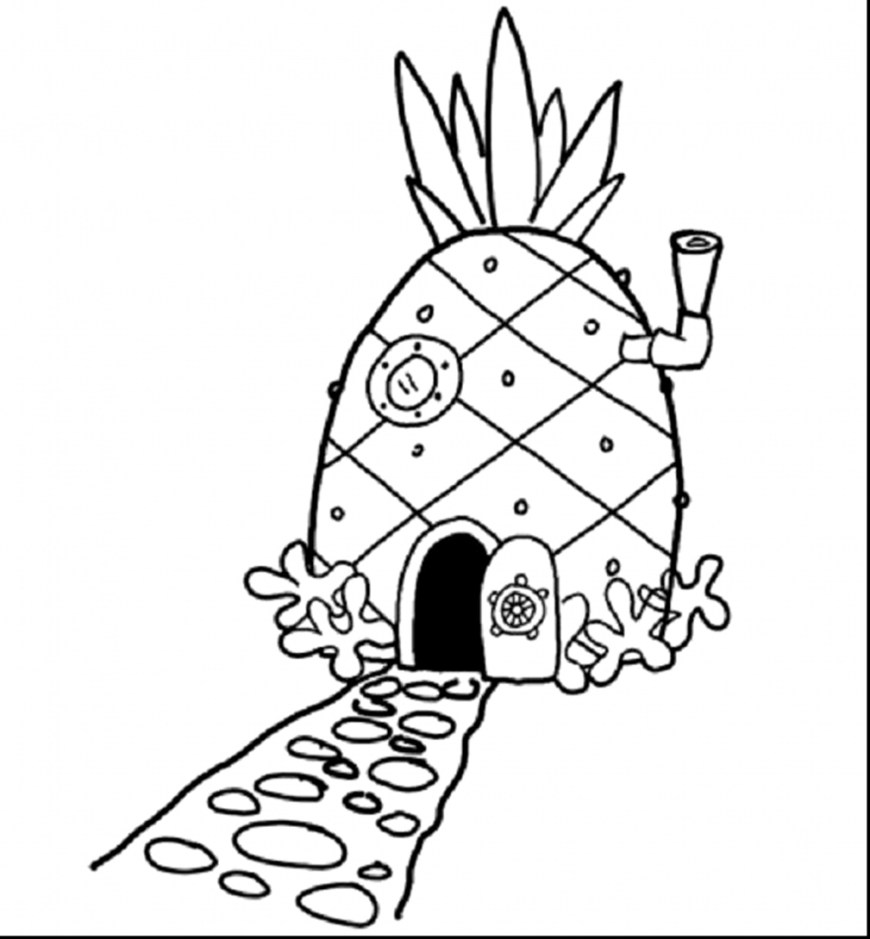 Pineapple Coloring Page Pineapple Coloring Page New Adult Pages Pineapples Collection