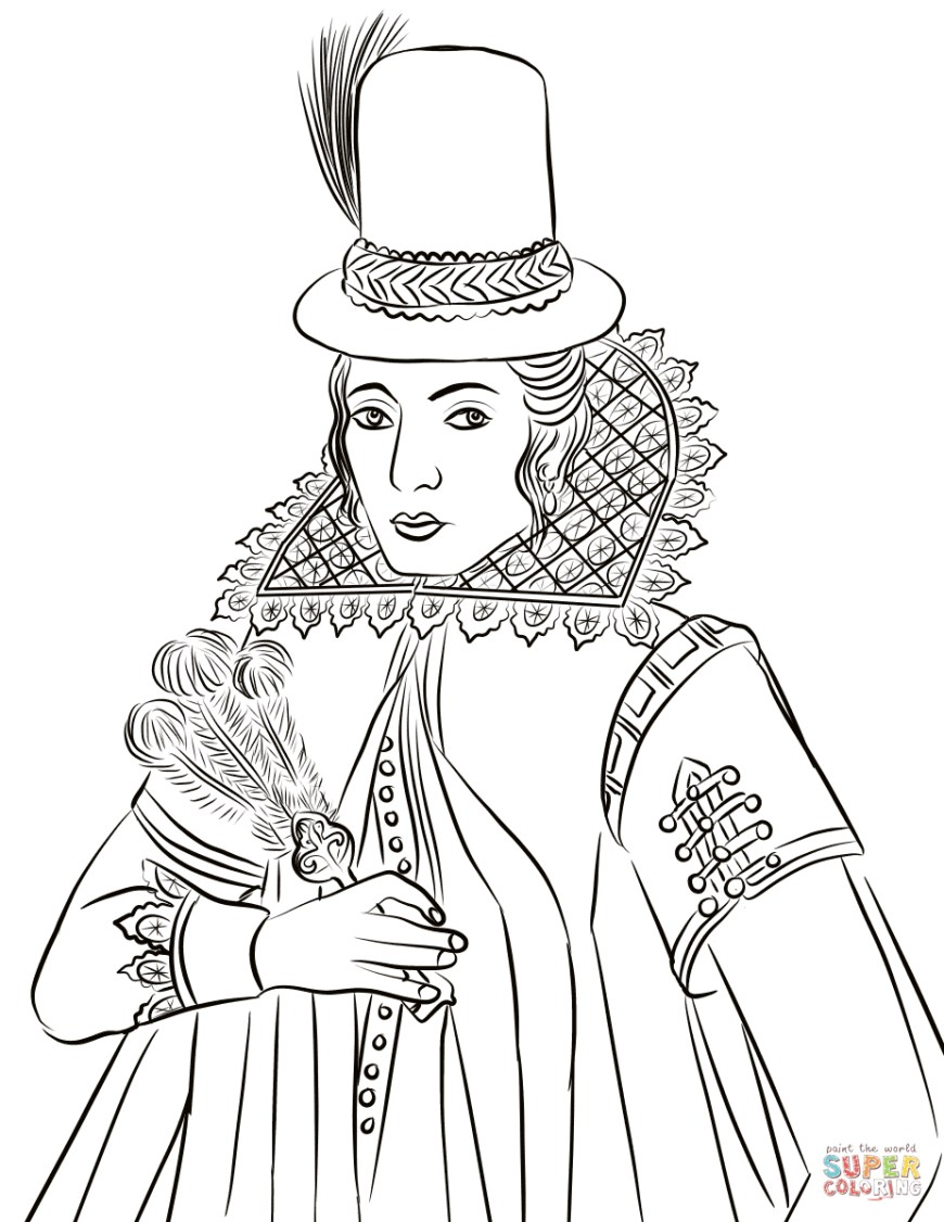 Pocahontas Coloring Pages Real Life Portrait Of Pocahontas Coloring Page Free Printable