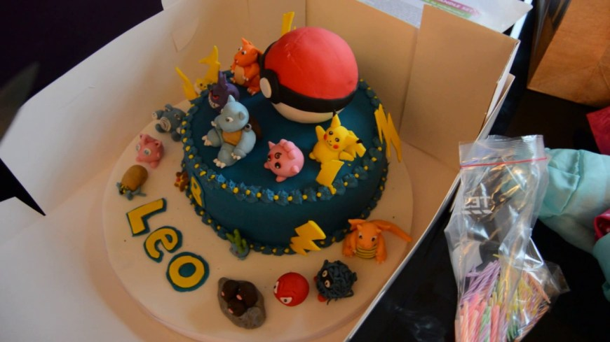 Pokemon Birthday Cake Best Pokemon Birthday Cake Ever Youtube
