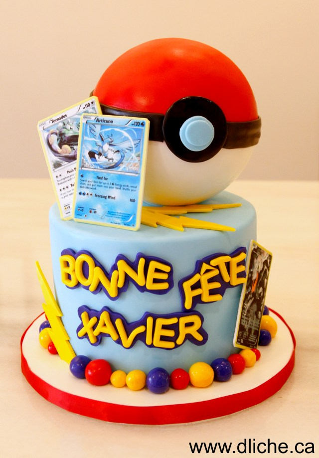 Pokemon Birthday Cake Our Cakes Birthday Cakes And Wedding Cakes In Montreal