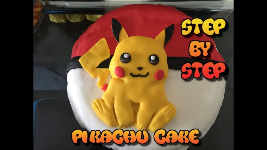 Pokemon Birthday Cake Pikachu Cake Pokemon Birthday Cake 2016 Easy To Make Morezuzi