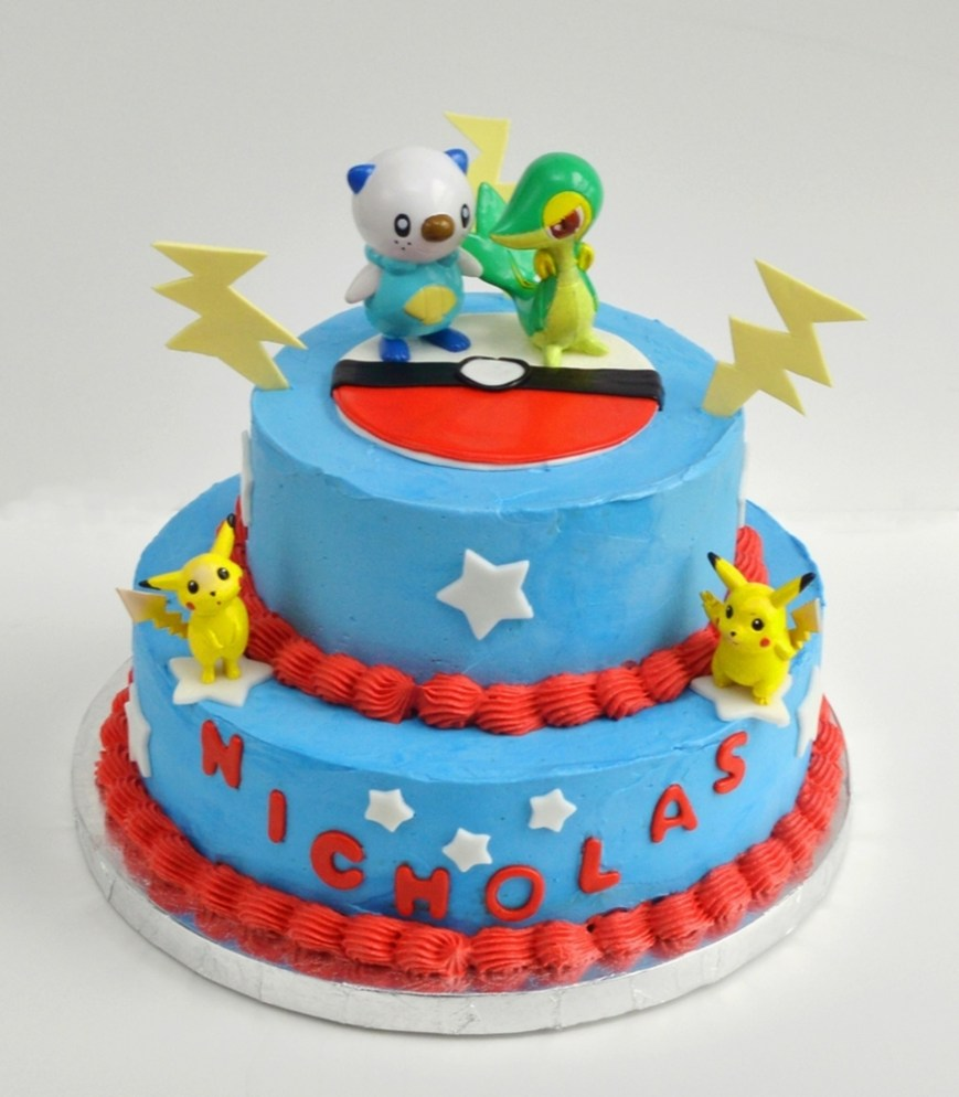 Pokemon Birthday Cake Pokemon Birthday Cake Cakecentral