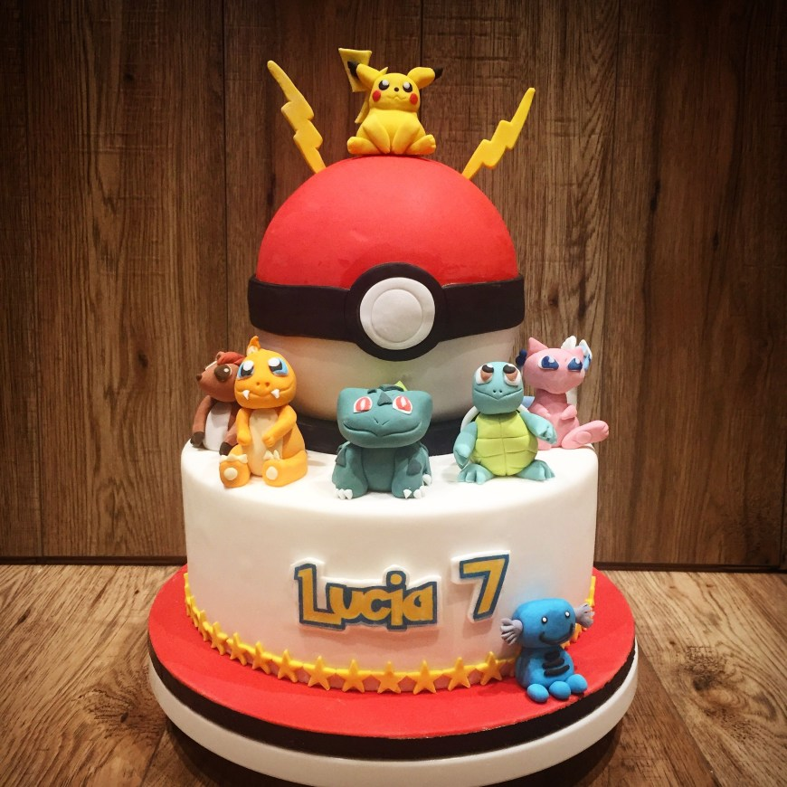 Pokemon Birthday Cake Pokemon Cake Olivias Cake Boutique Birthday Party Pinterest