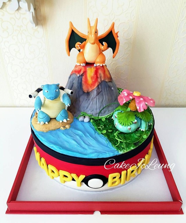 Pokemon Birthday Cake These Pokmon Cakes Are Fit For Any Trainers Birthday Party