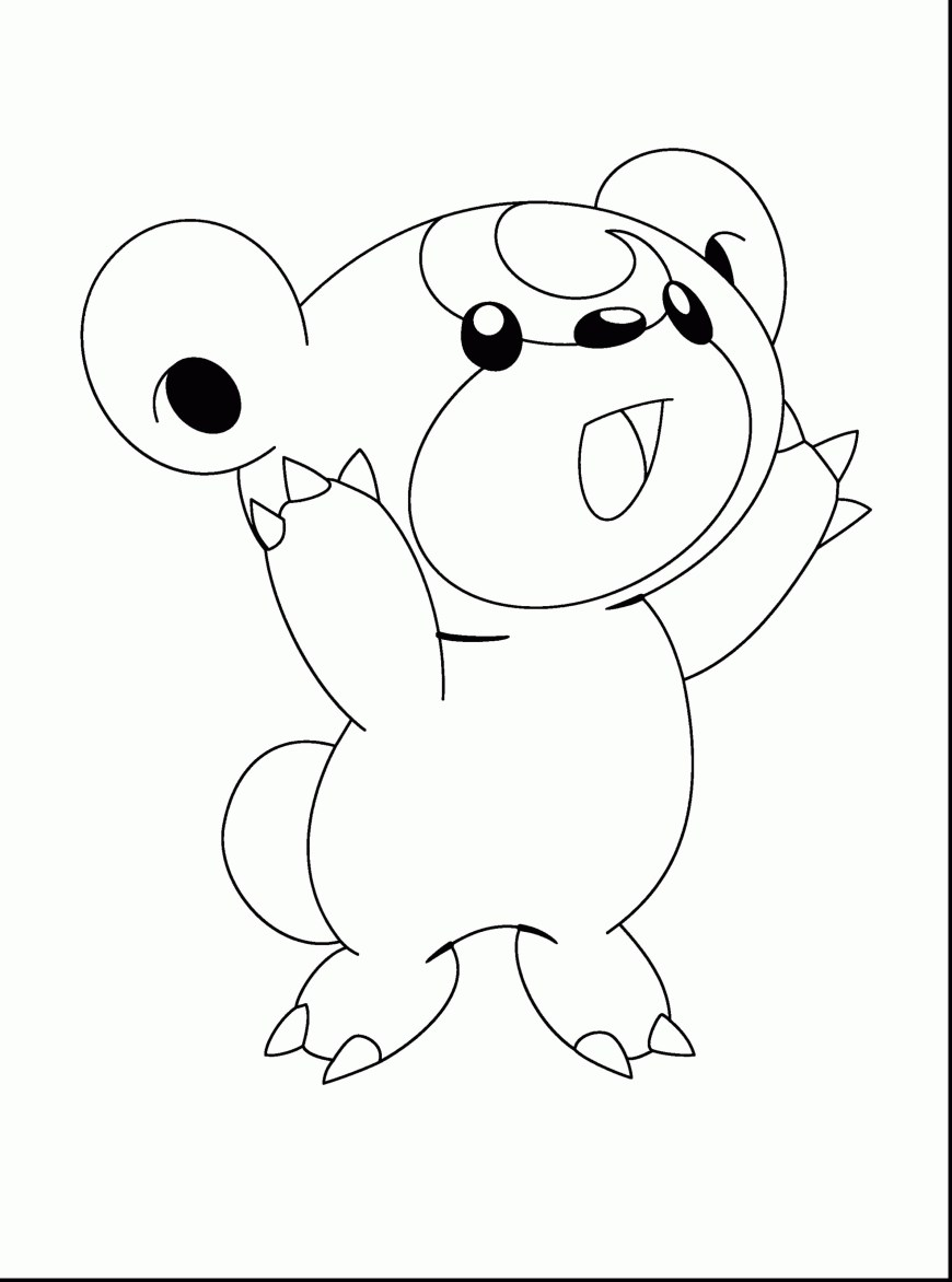 Pokemon Coloring Pages Eevee Coloring Pages Eevee At Getdrawings Free For Personal Use