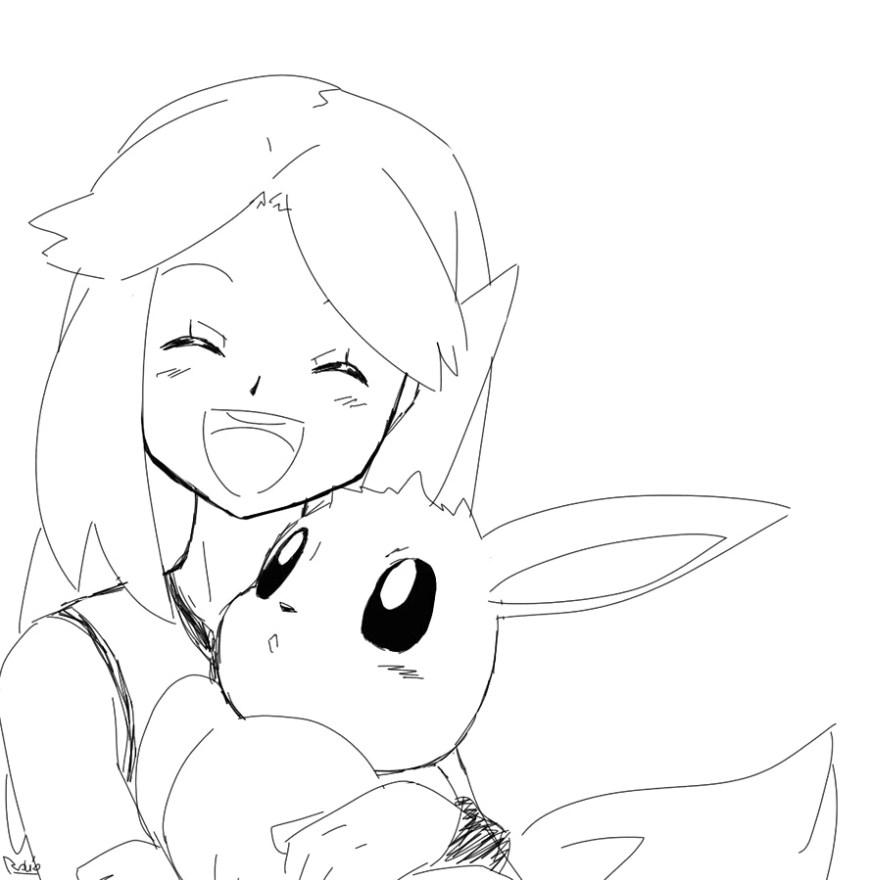 Pokemon Coloring Pages Eevee Eevee Coloring Pages Eevee Coloring Page 010 To Coloring Pages