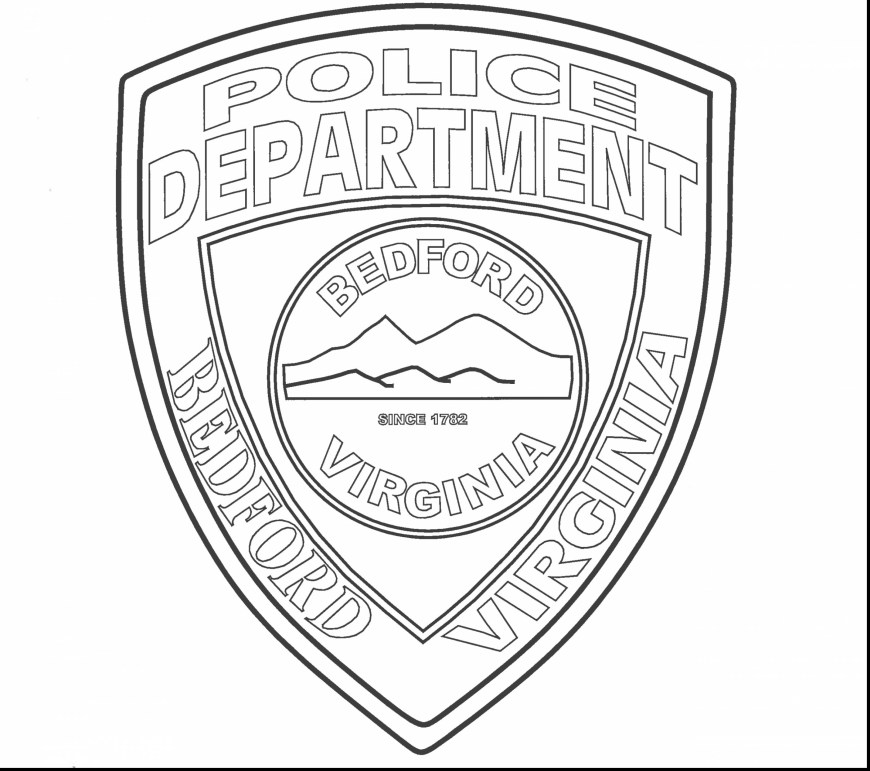 Police Officer Coloring Pages Police Coloring Pages For Kids At Getdrawings Free For