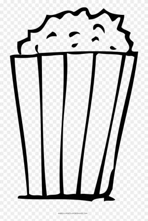 Popcorn Coloring Page Popcorn Coloring Page Popcorn Free Transparent Png Clipart
